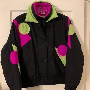 Vintage Profile Ski 80s Puffer Ski Jacket Sz S